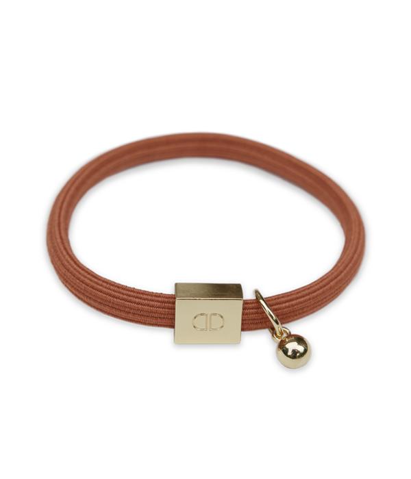 Armband elastic rostrot