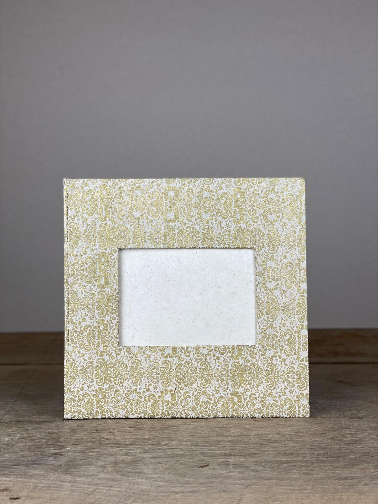 Album Hardcover Quart gold/weiß Royal