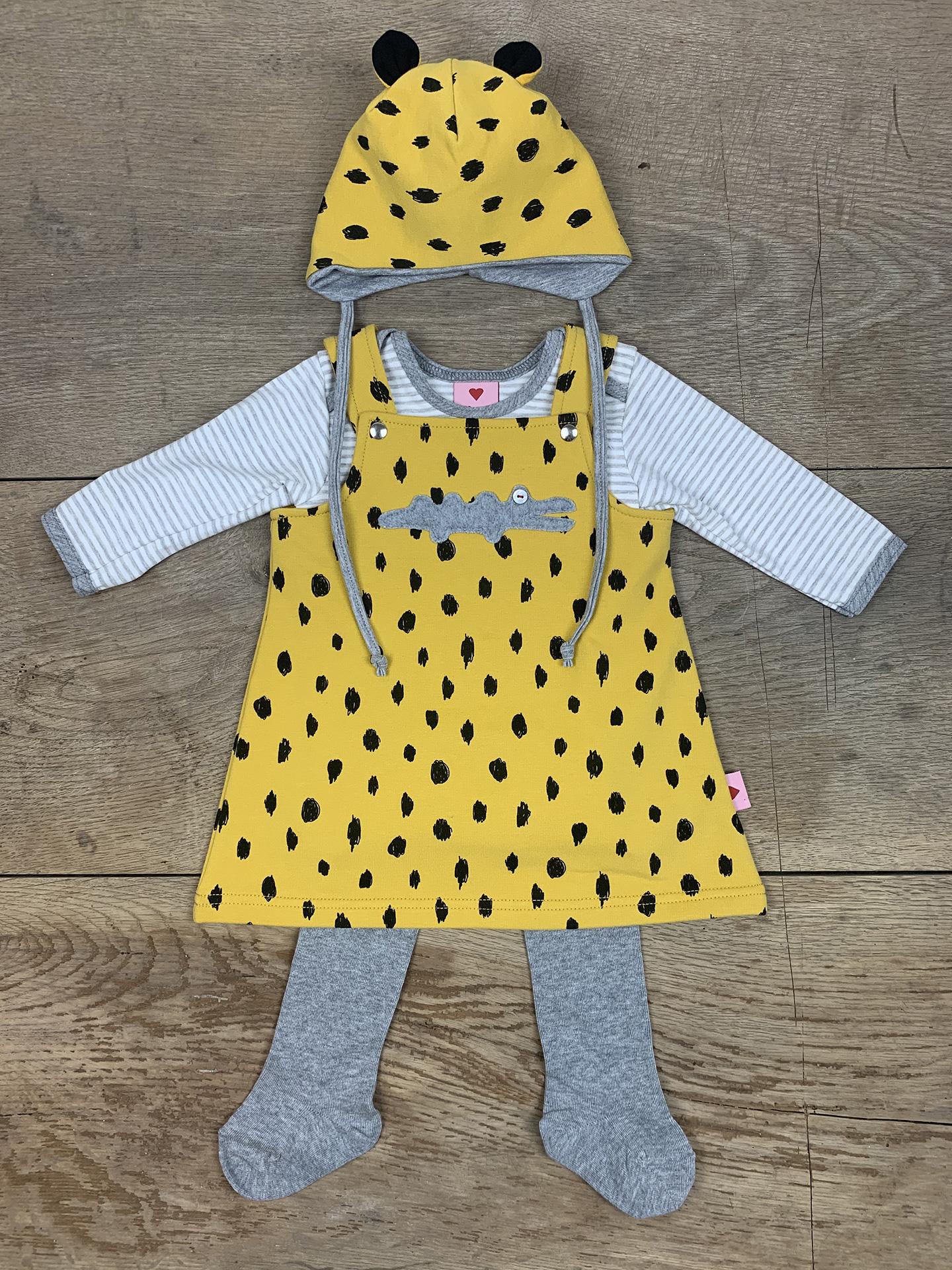 Kleid Baby Kroko Crazy dots