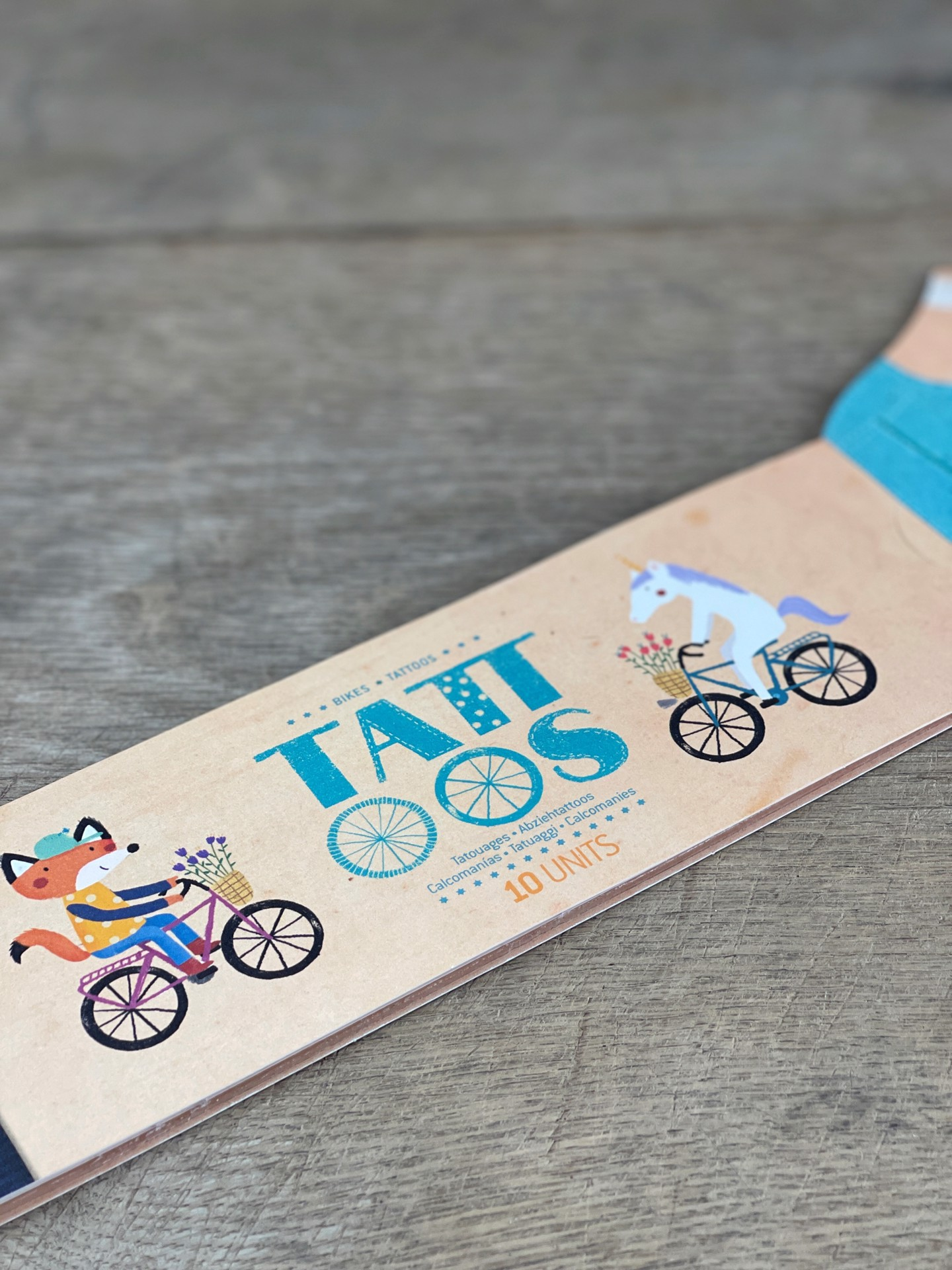 Kinder Tattoo Fahrräder