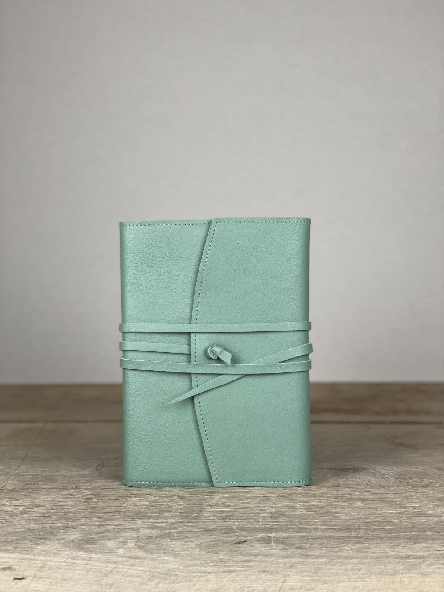 Notizbuch Leder mint
