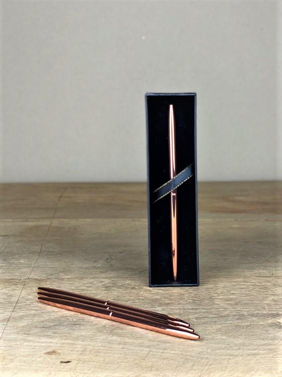 Kugelschreiber elegant rosé