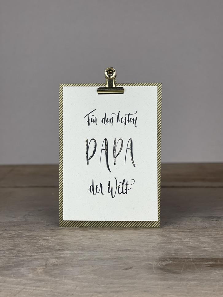 Karte A6 besten Papa