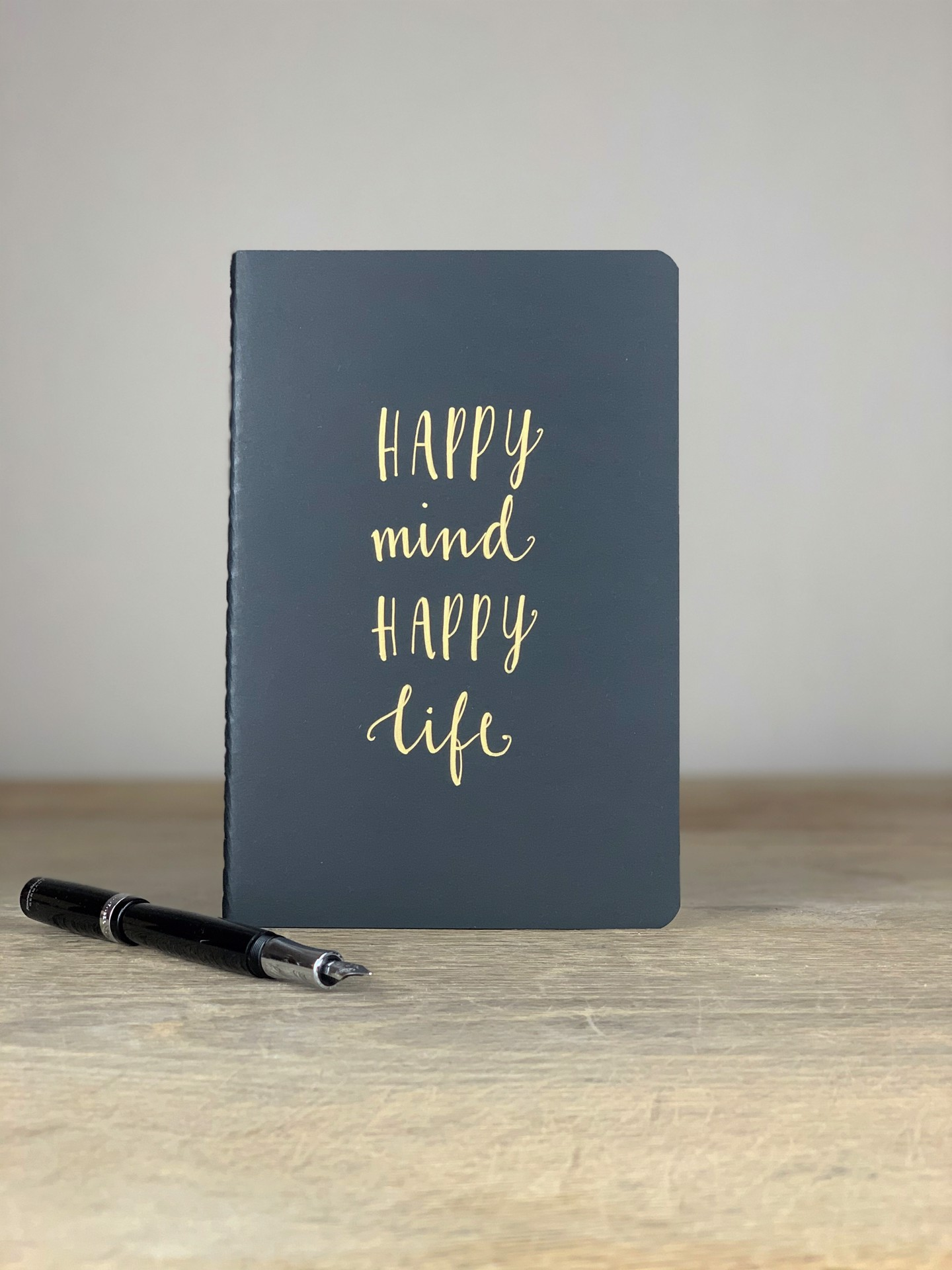Notizheft A5 Happy Mind