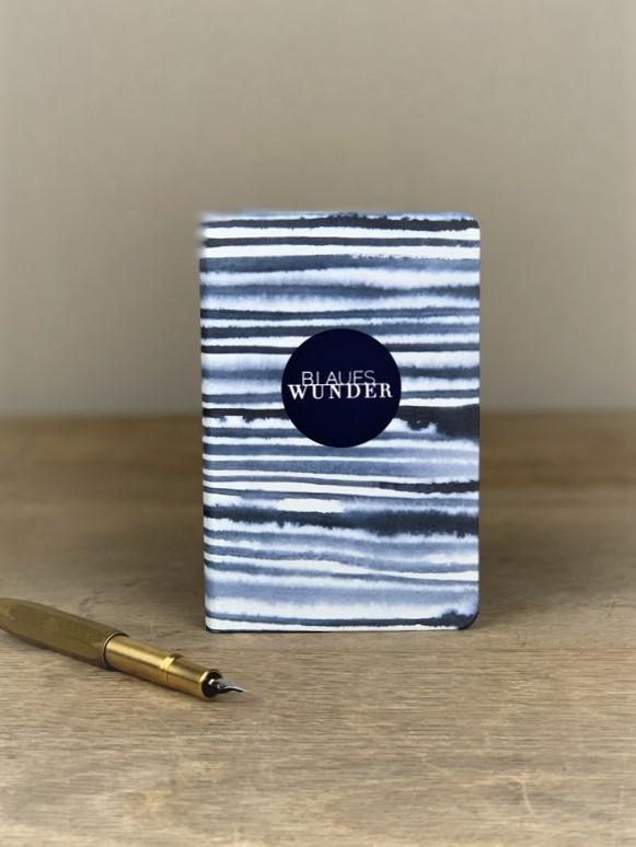 Notizbuch blaues Wunder