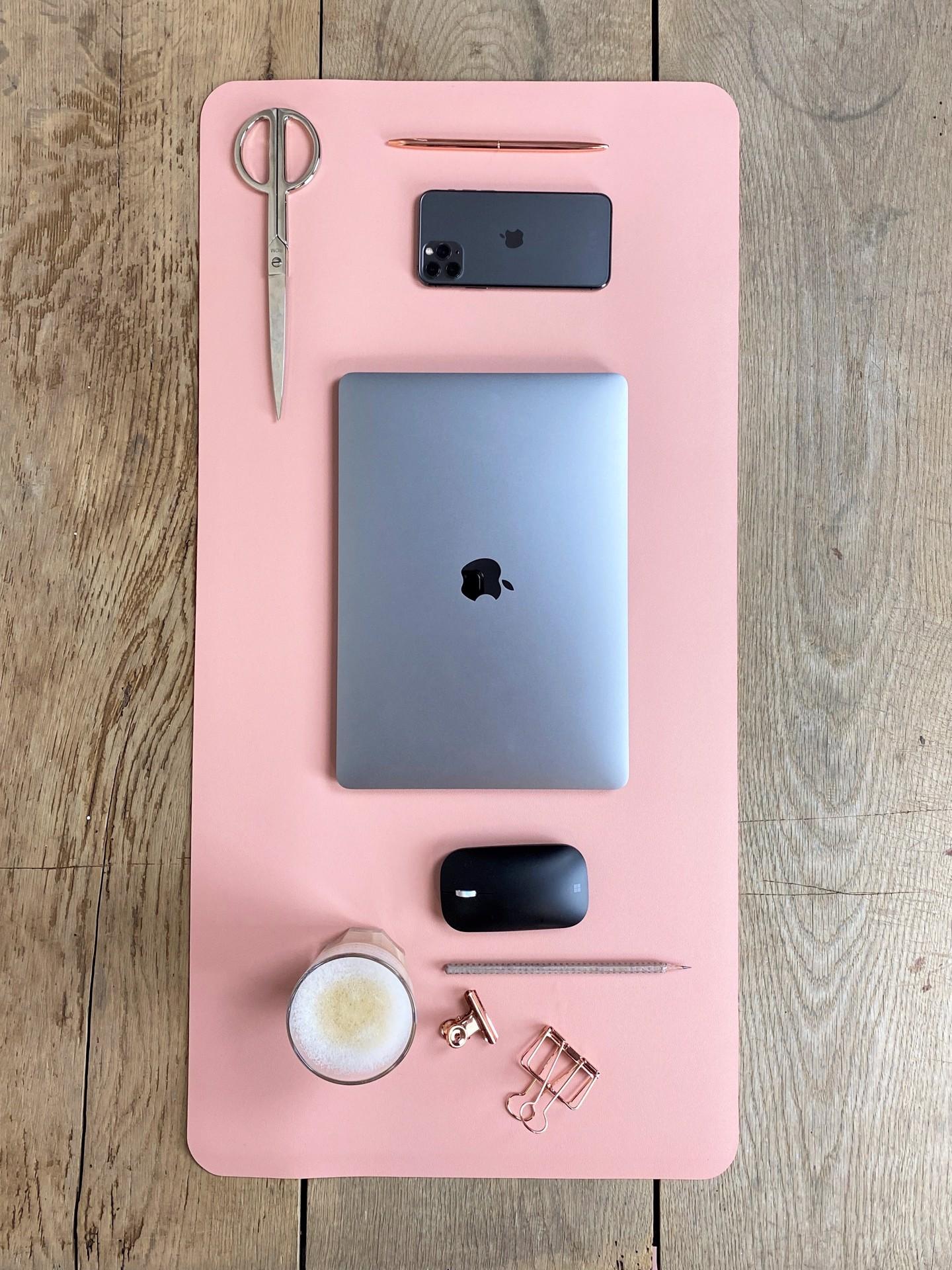 Schreibtischunterlage rose
