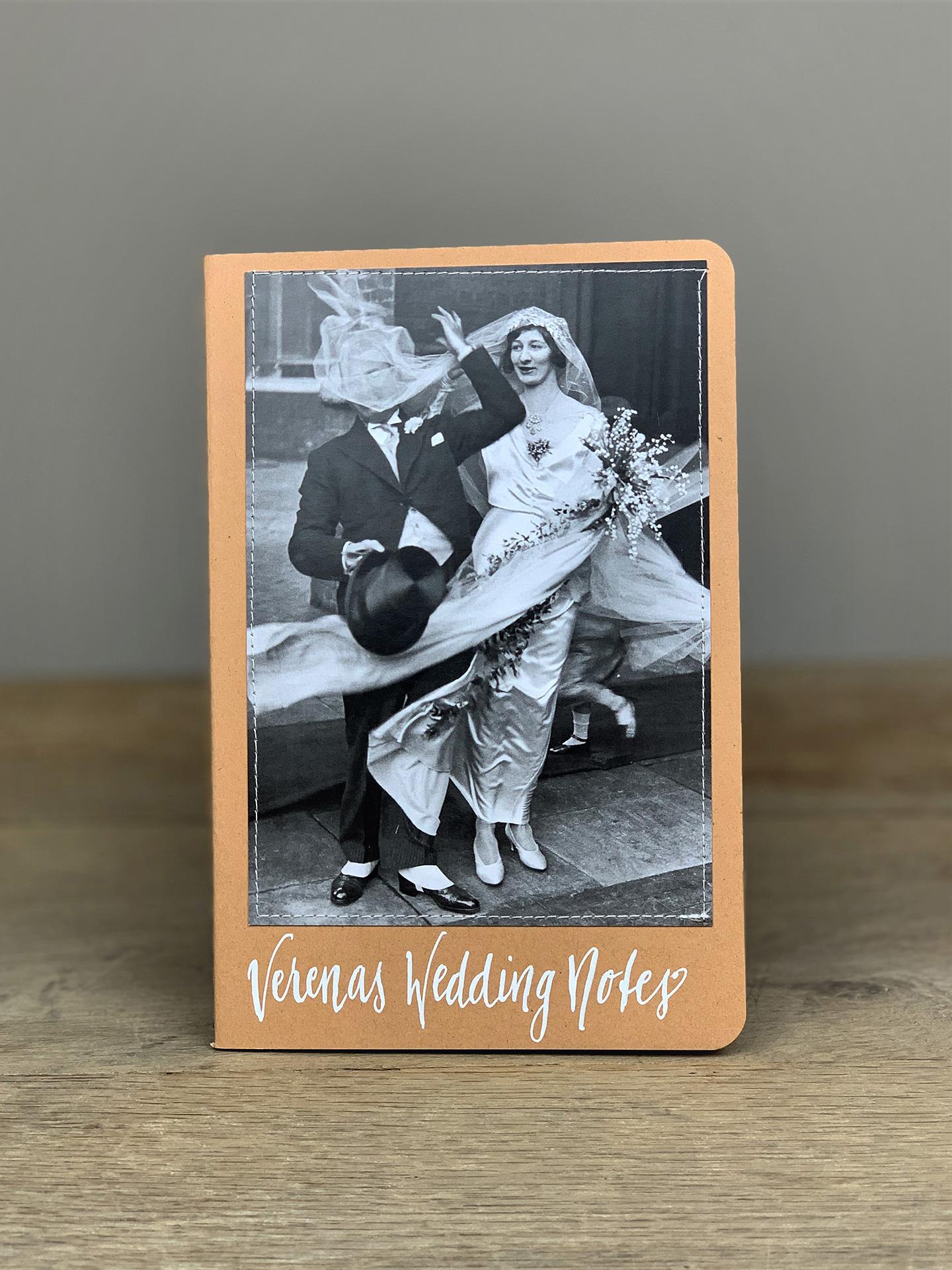 Heft B5 Wedding Notes Hochzeitspaar natur KH8