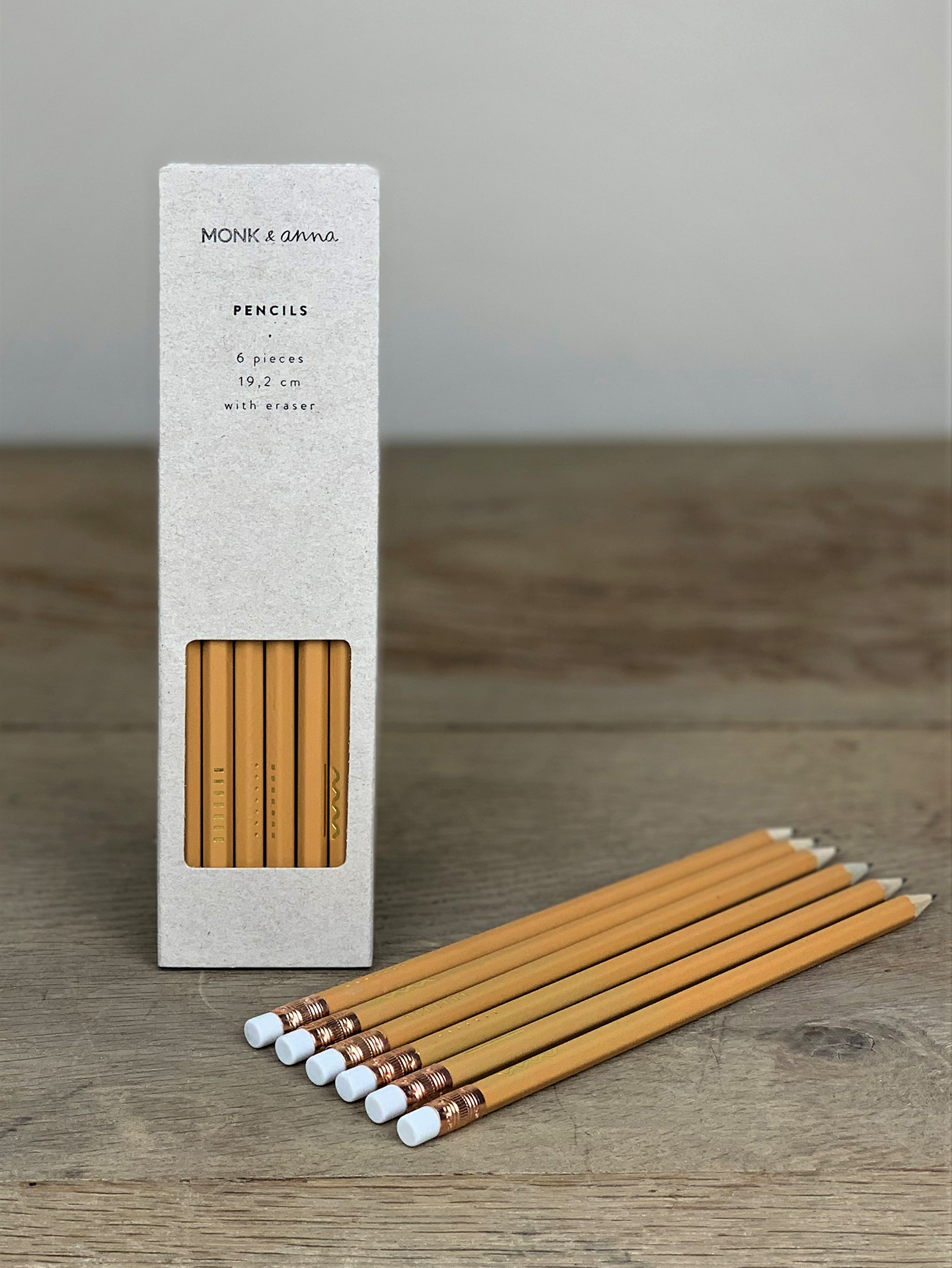 Bleistift Set gelb