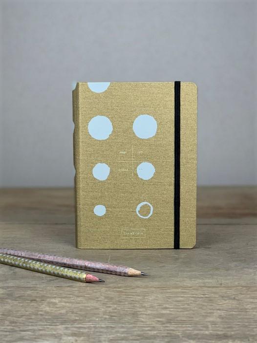 Adressbuch Gold Dots