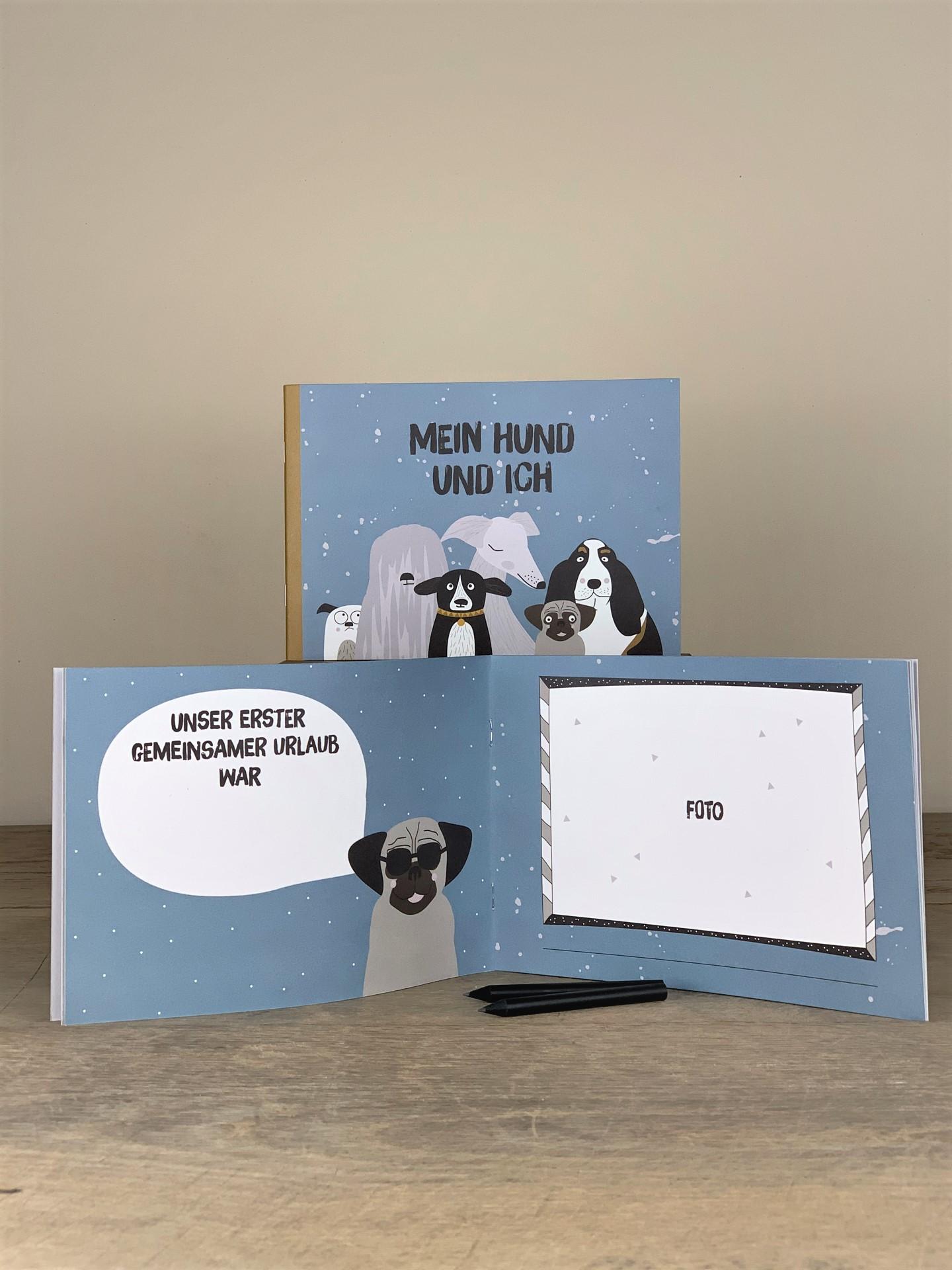Erinnerungsbuch Hund