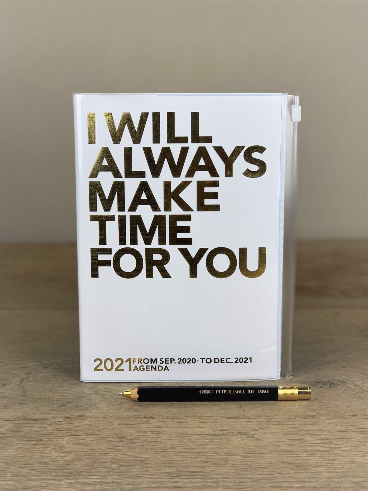 Kalender I will always.... weiß