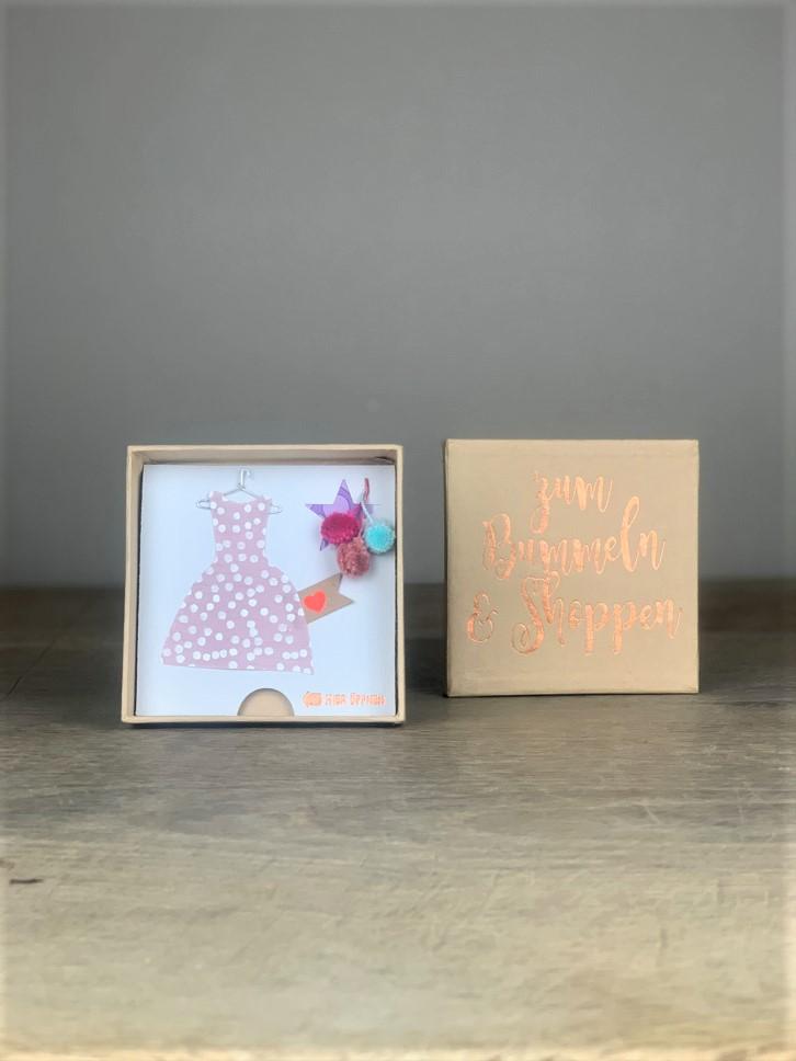 Geschenkbox Zum Bummeln & Shoppen