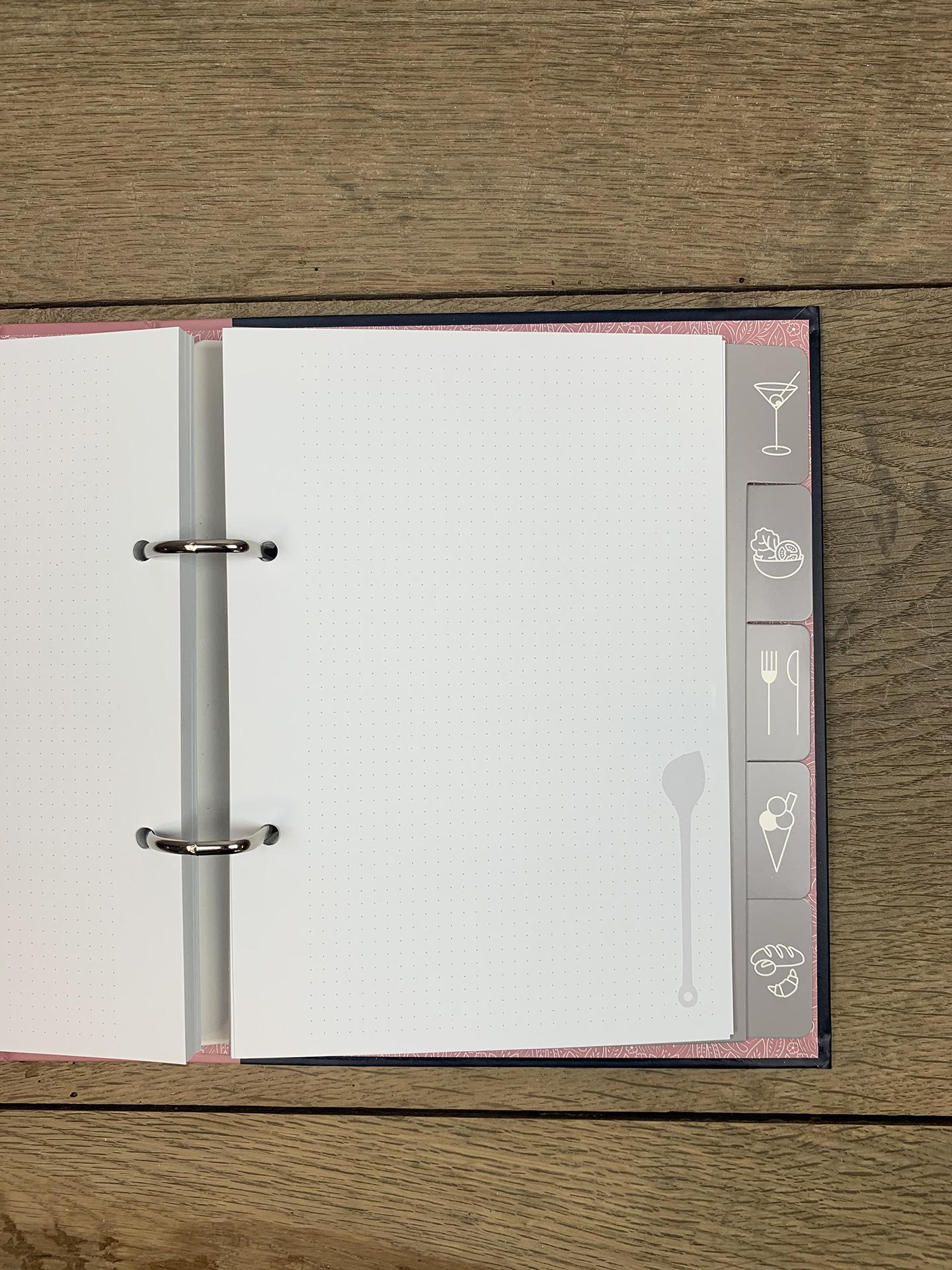 Kochmappe Cook Book Rosen