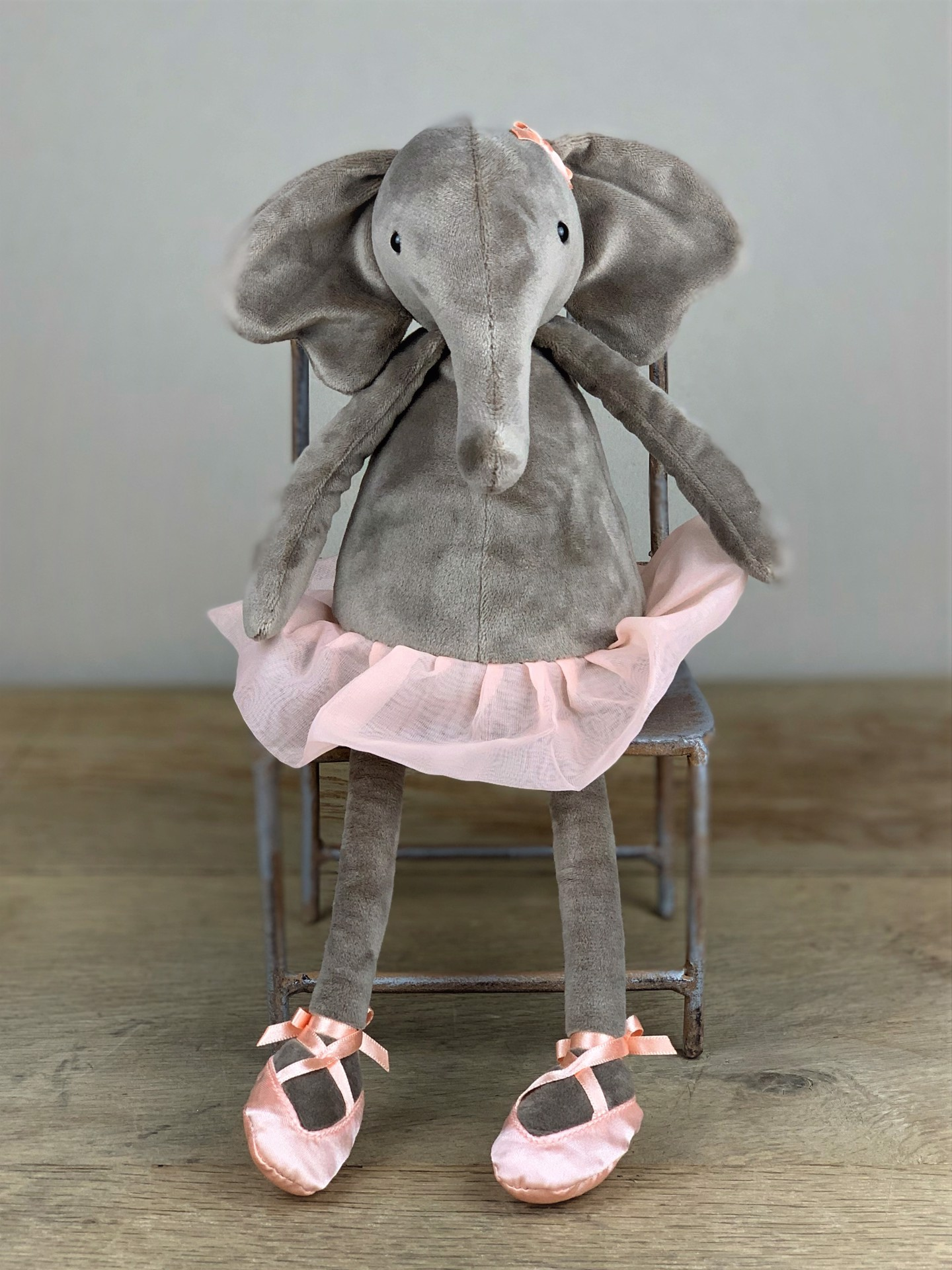 Stofftier Ballerina Elefant