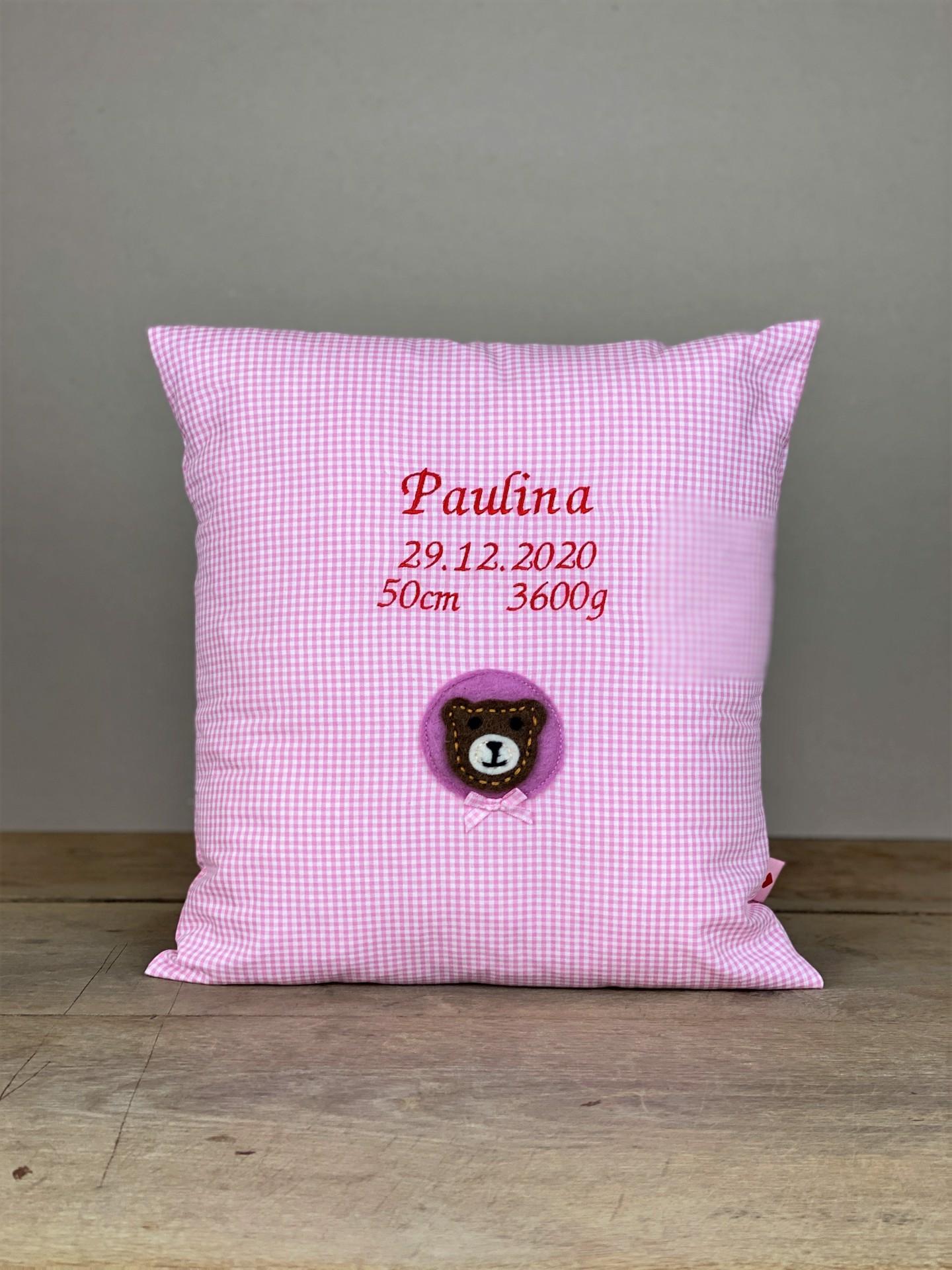 Polster No. 05 Brumm rosa