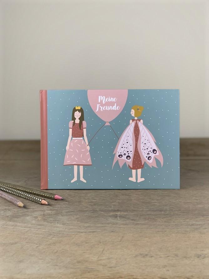 Erinnerungsbuch Freundschaftsbuch Prinzessin