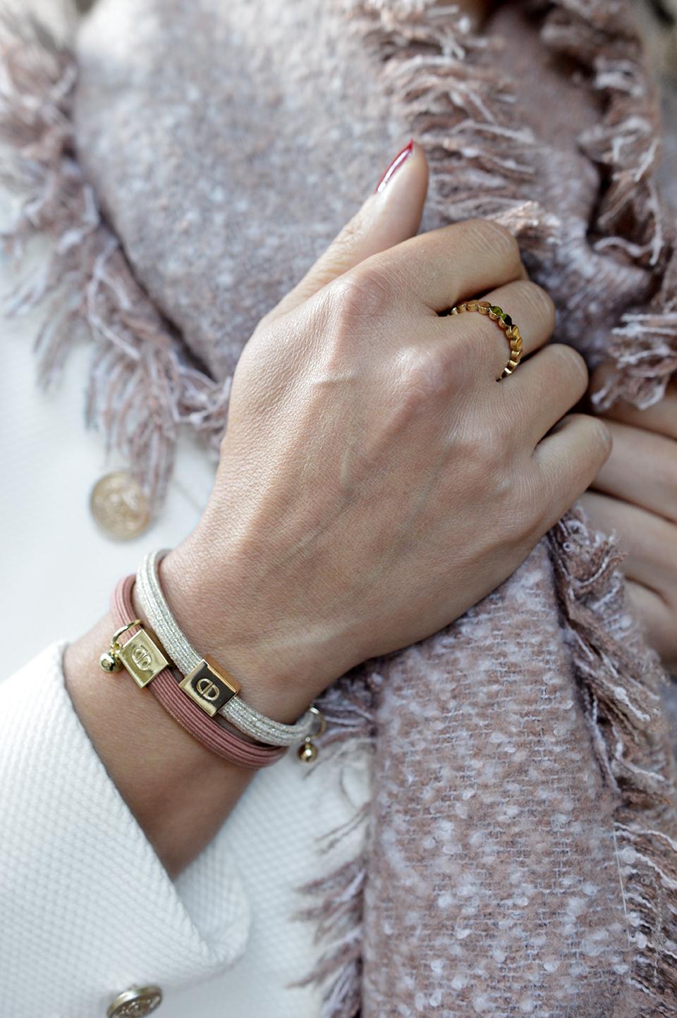 Armband elastic altrosa
