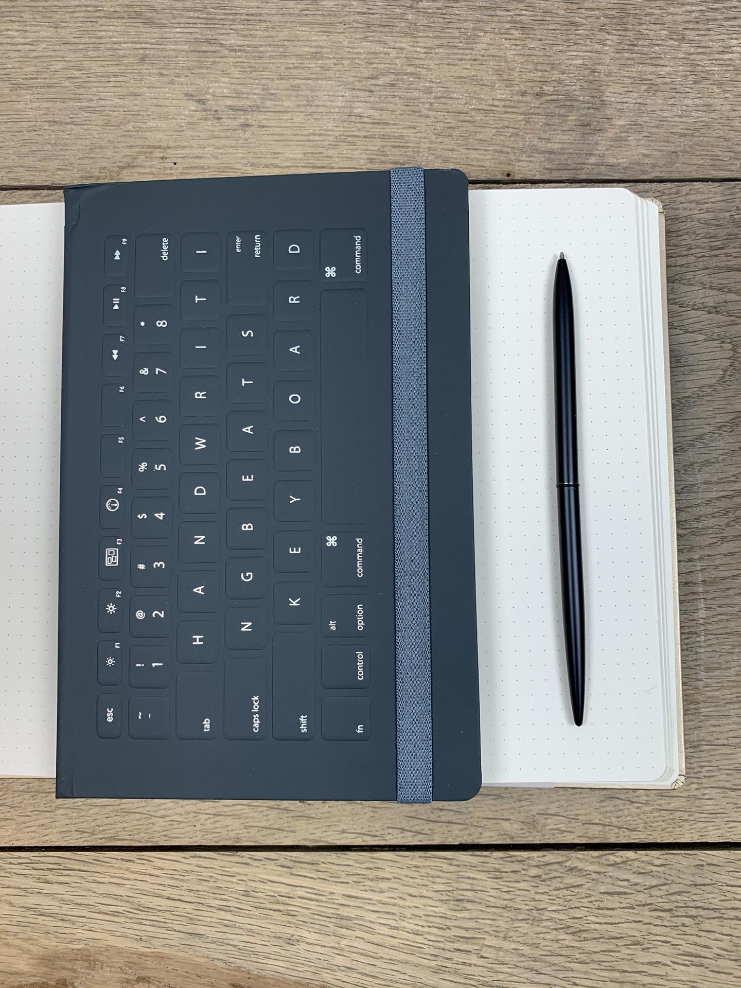 Notizbuch Keyboard schwarz