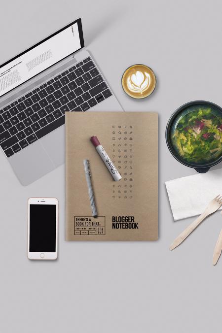 Notebook natur Blogger