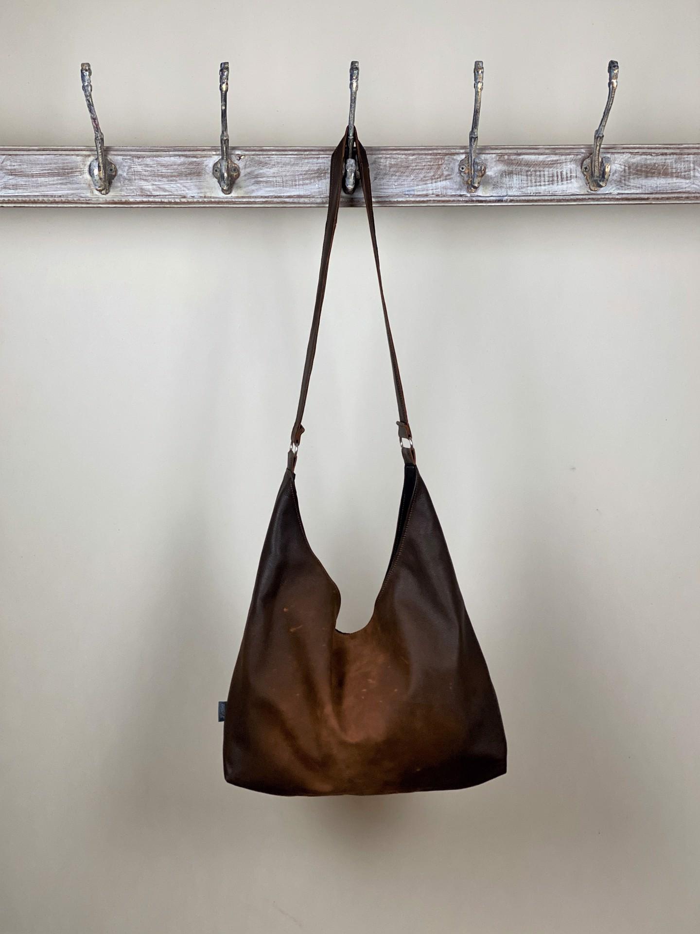 Leder Tasche braun