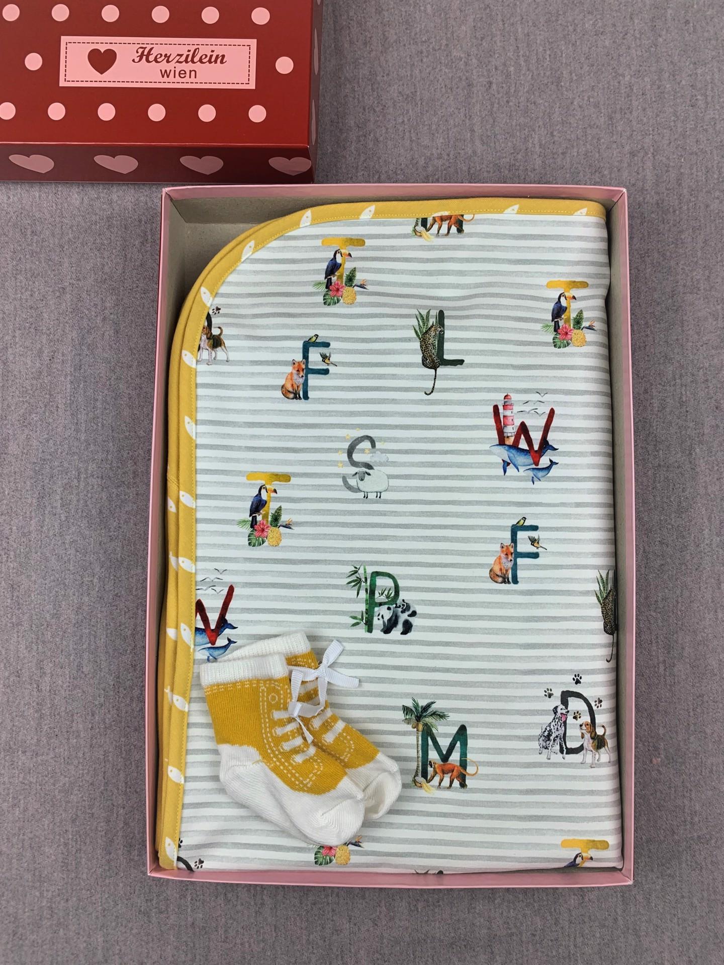 Geschenkbox Set No. 19 ABC gelb