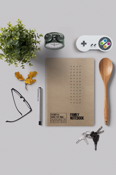 Notebook Family  natur