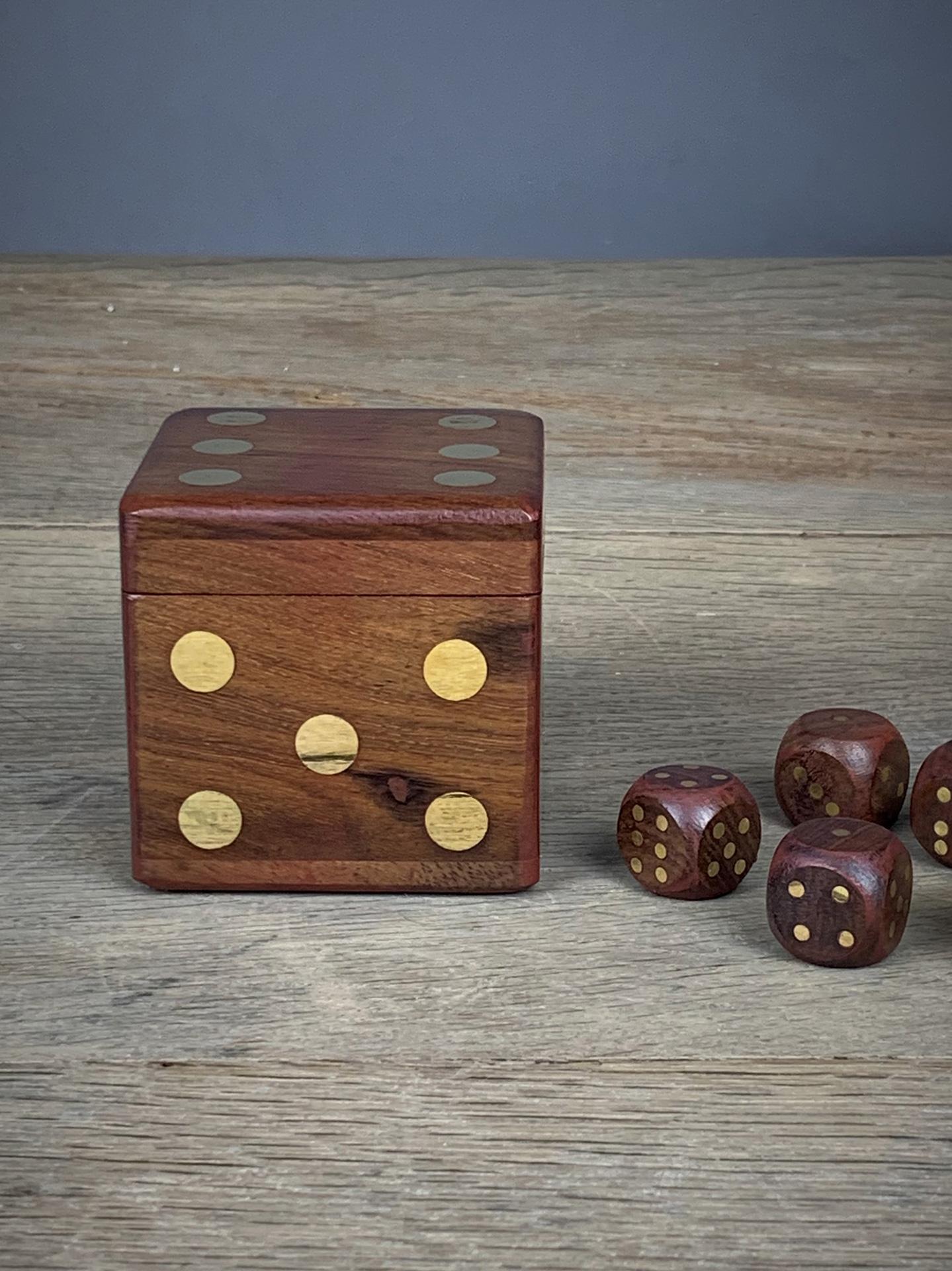 Würfelbox Holz
