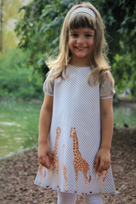 Kleid Giraffe