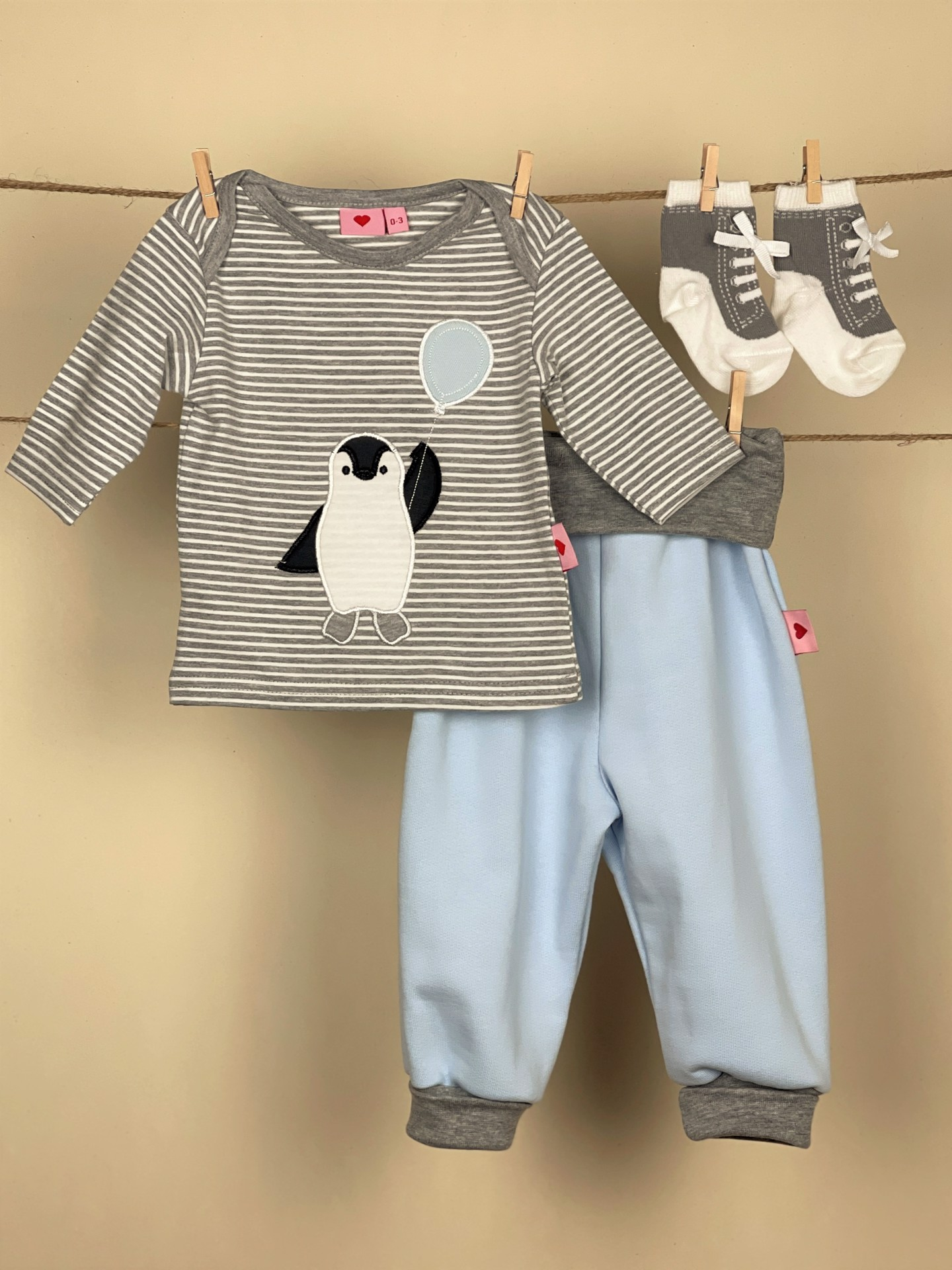 Shirt Pinguin boy