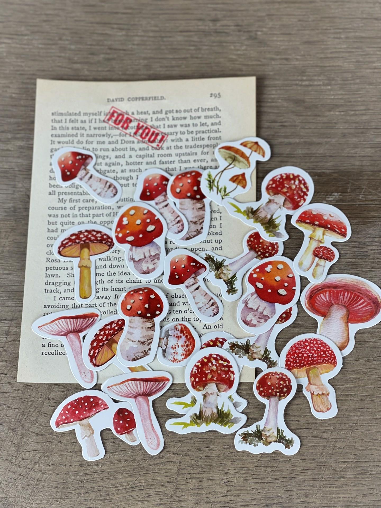 Stickerset Pilze
