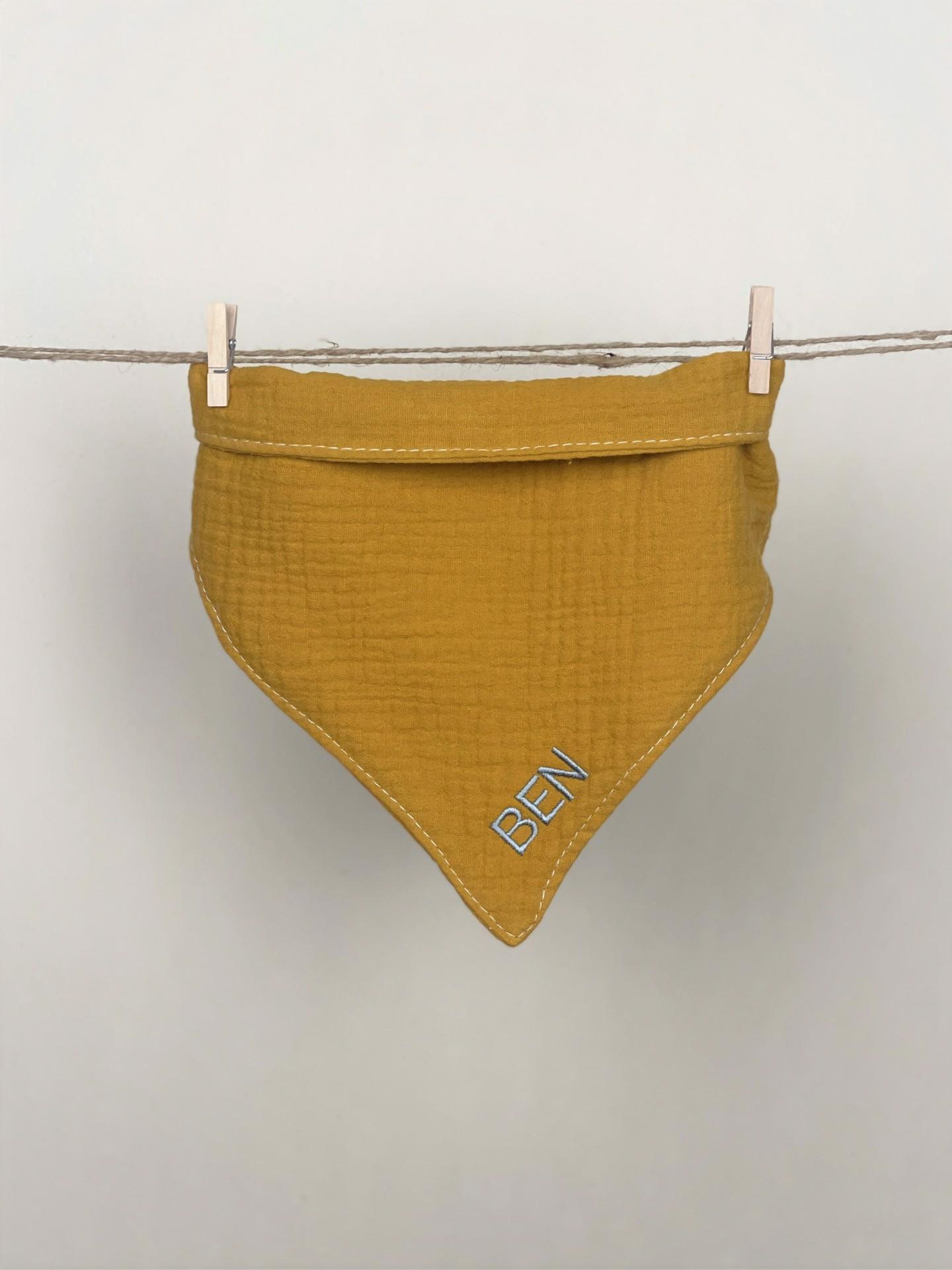 Halstuch No. 3  gelb