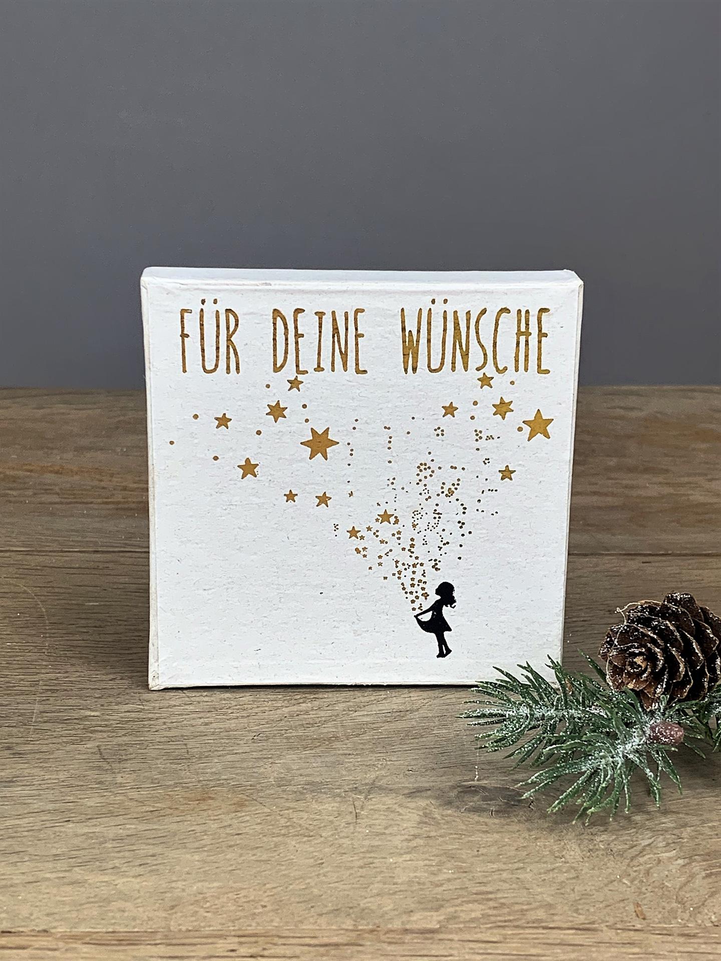 Geschenkbox Weihnachten Für deine Wünsche