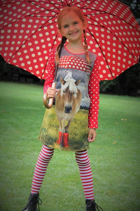 Kleid Umbrella Horse