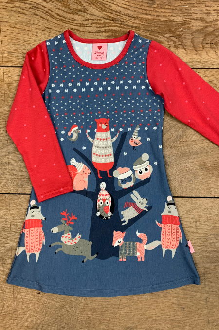 Kleid Winter Wonderland