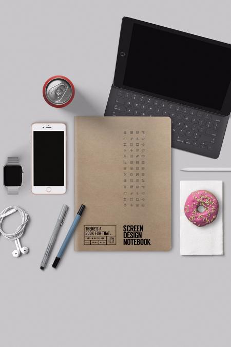 Notebook Screen Design  natur