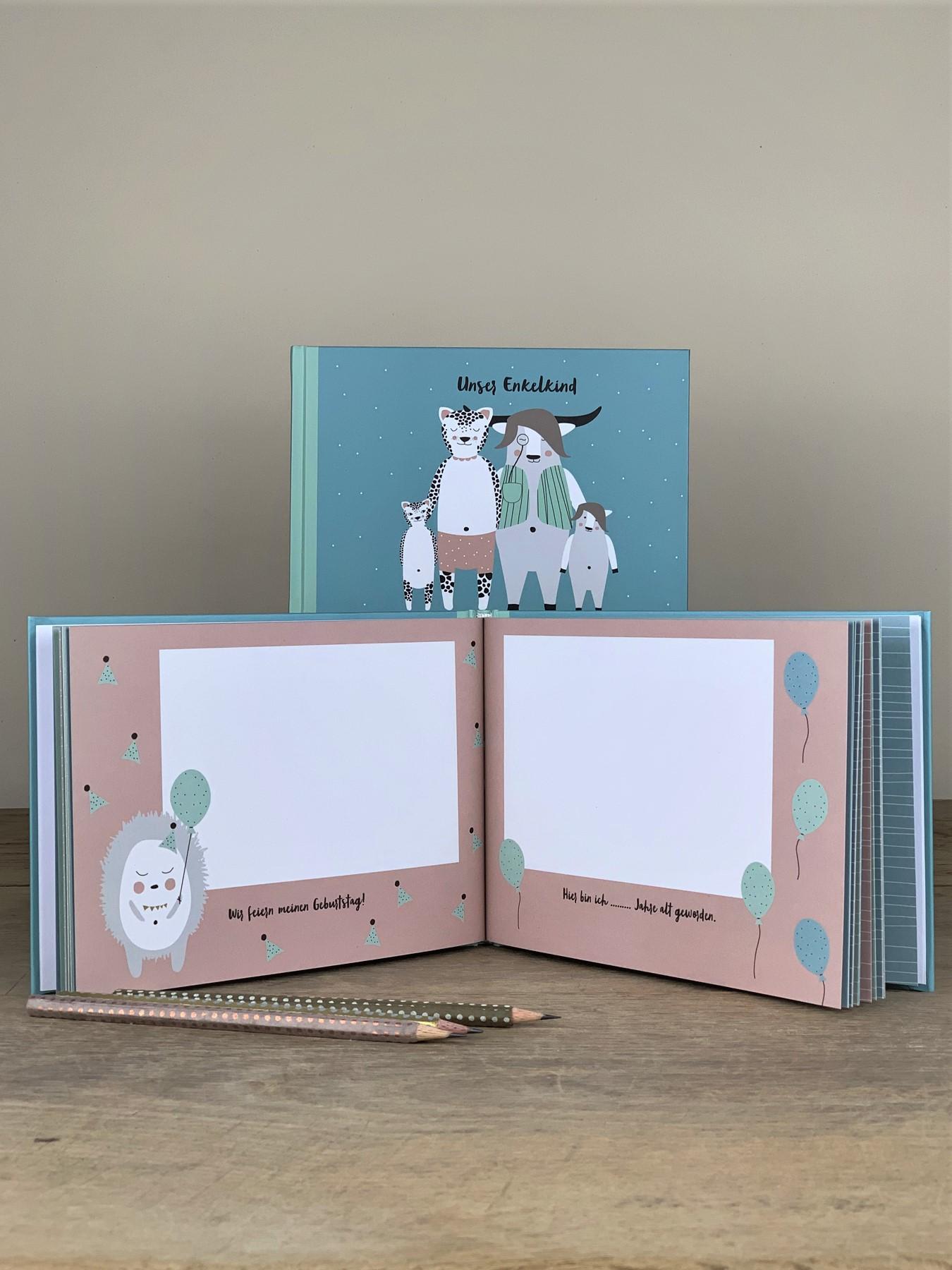 Erinnerungsbuch Unser Enkelkind