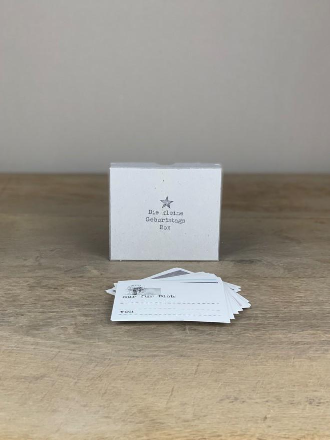 Kartenset Die kleine Geburtstags Box