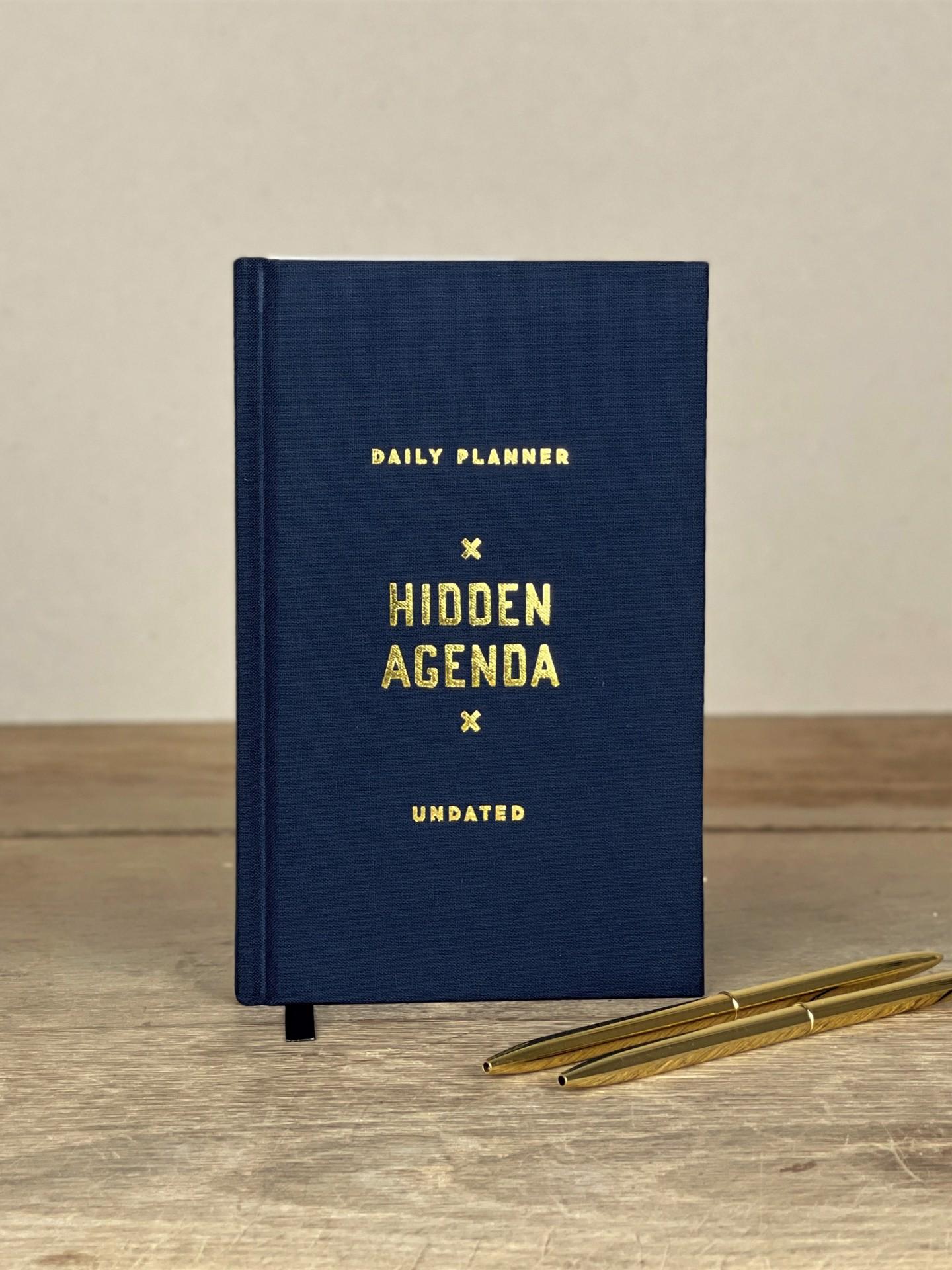 Kalender undatiert Hidden Agenda