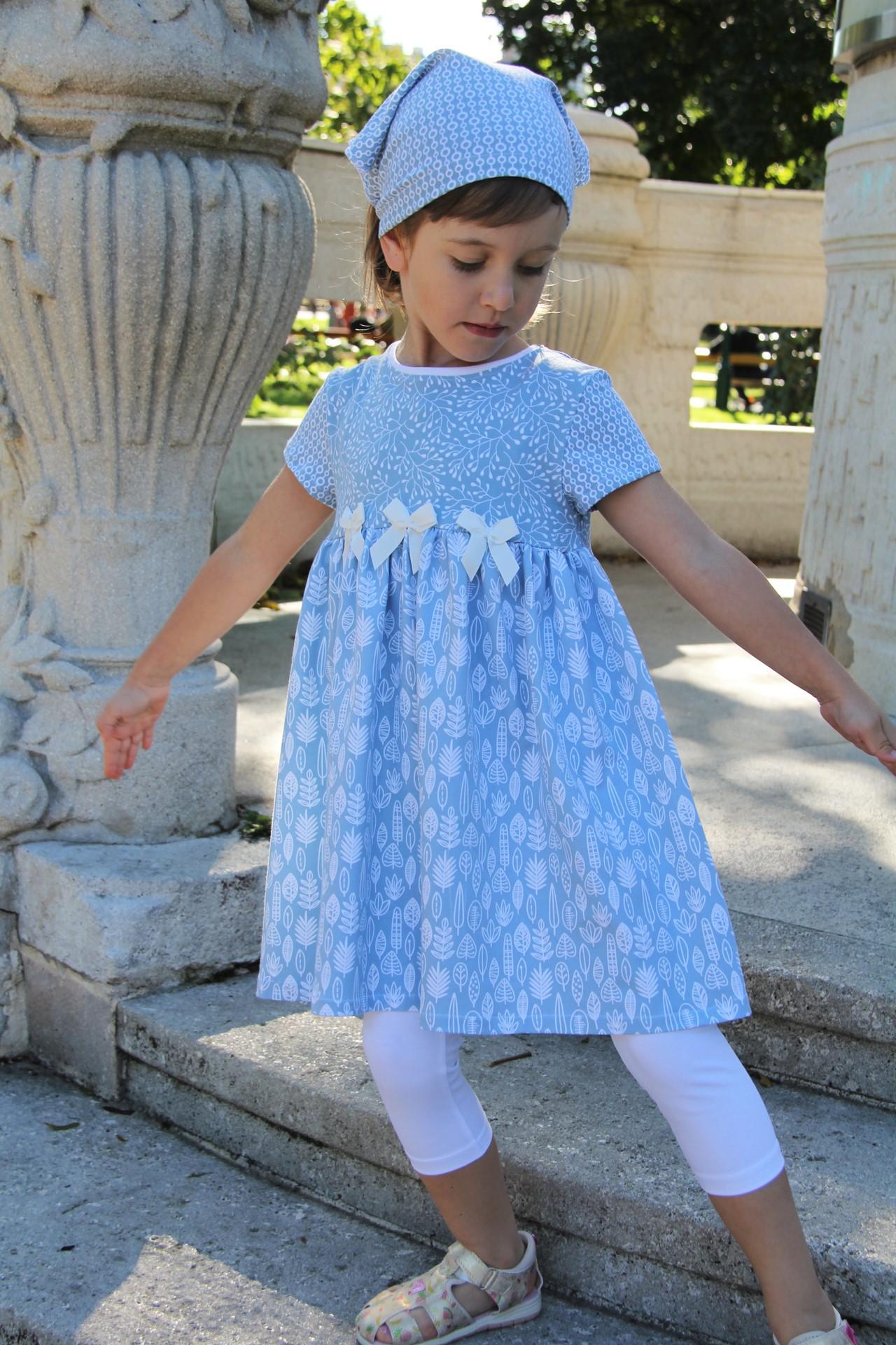 Kleid Frühlingstraum hellblau