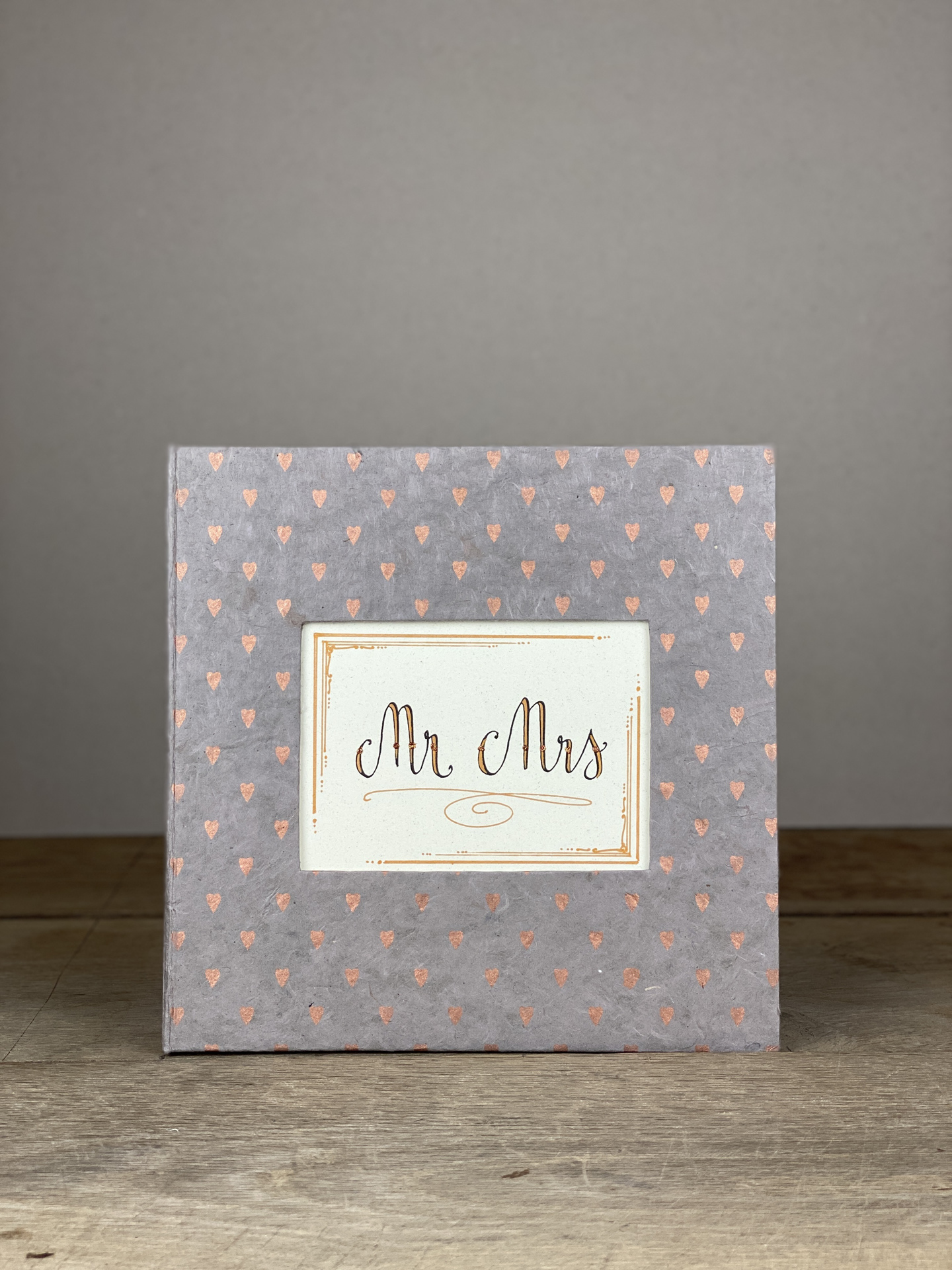 Album Hardcover Quart rosé Herzen