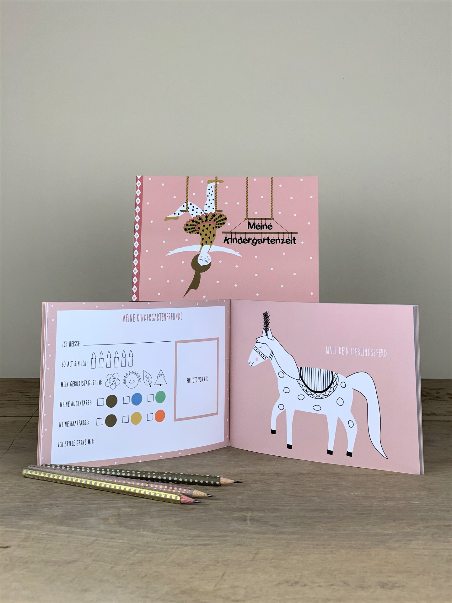 Erinnerungsbuch Kindergartenzeit Ballerina