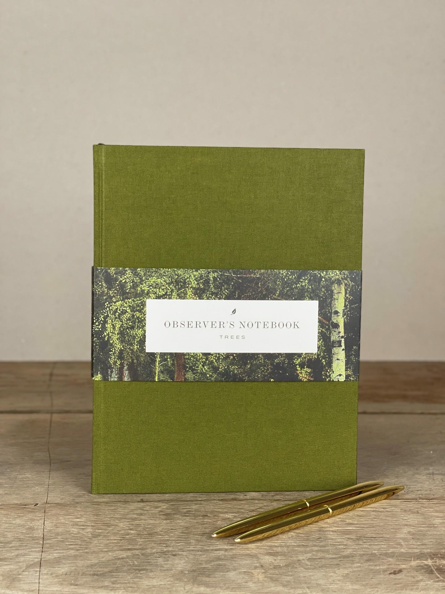 Notizbuch Observer's grün
