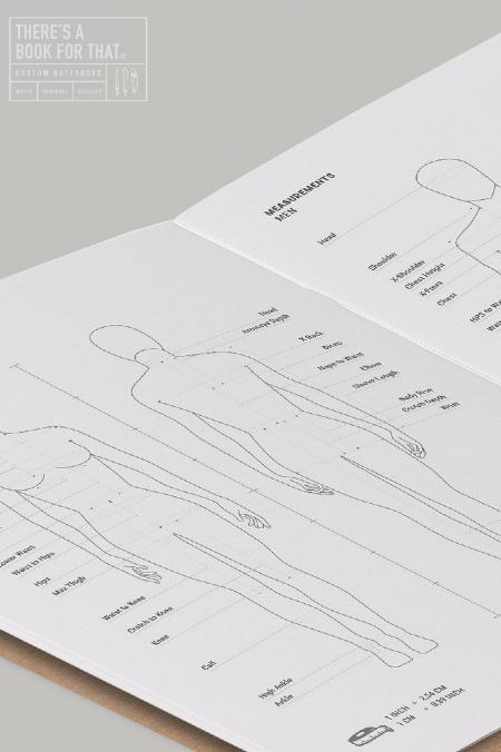 Notebook Fashion Design  natur