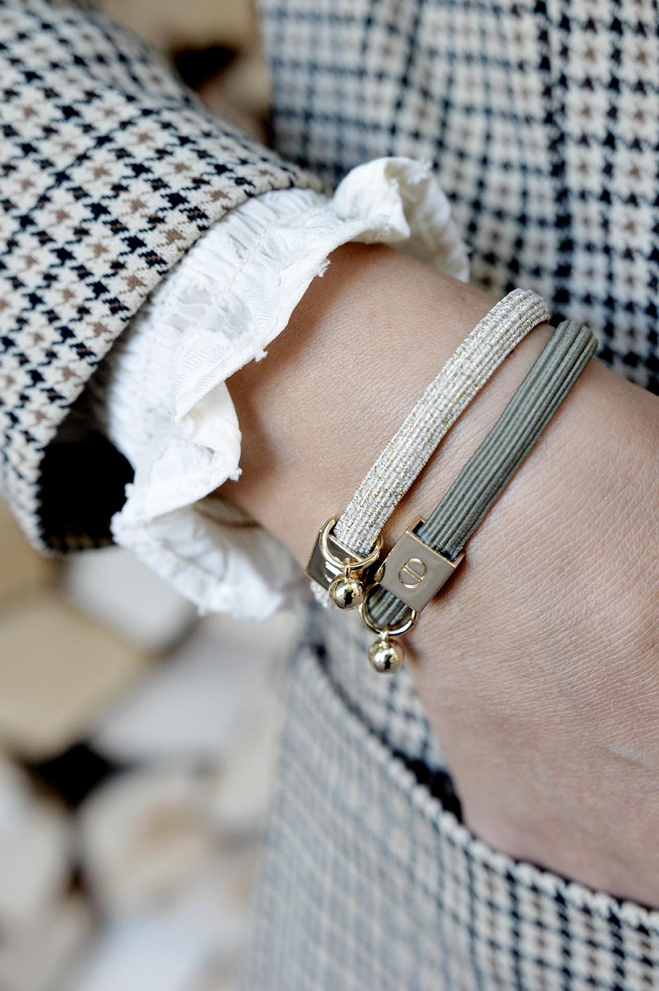 Armband elasitc glitzer