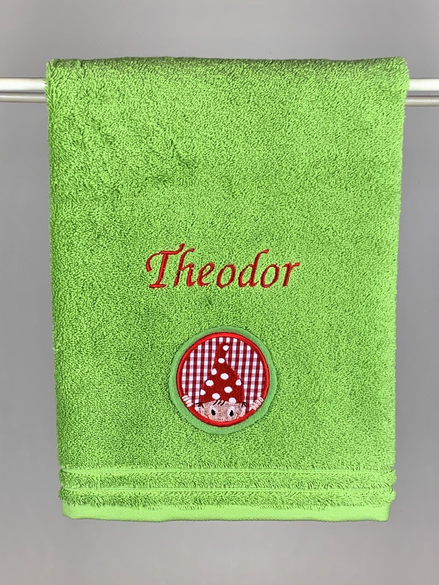 Handtuch No. 07 Wichtel grün
