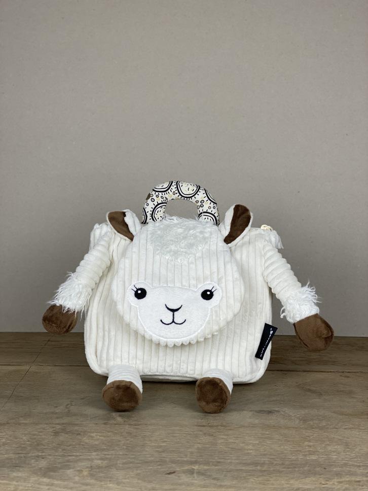 Rucksack Cord Tier Schaf