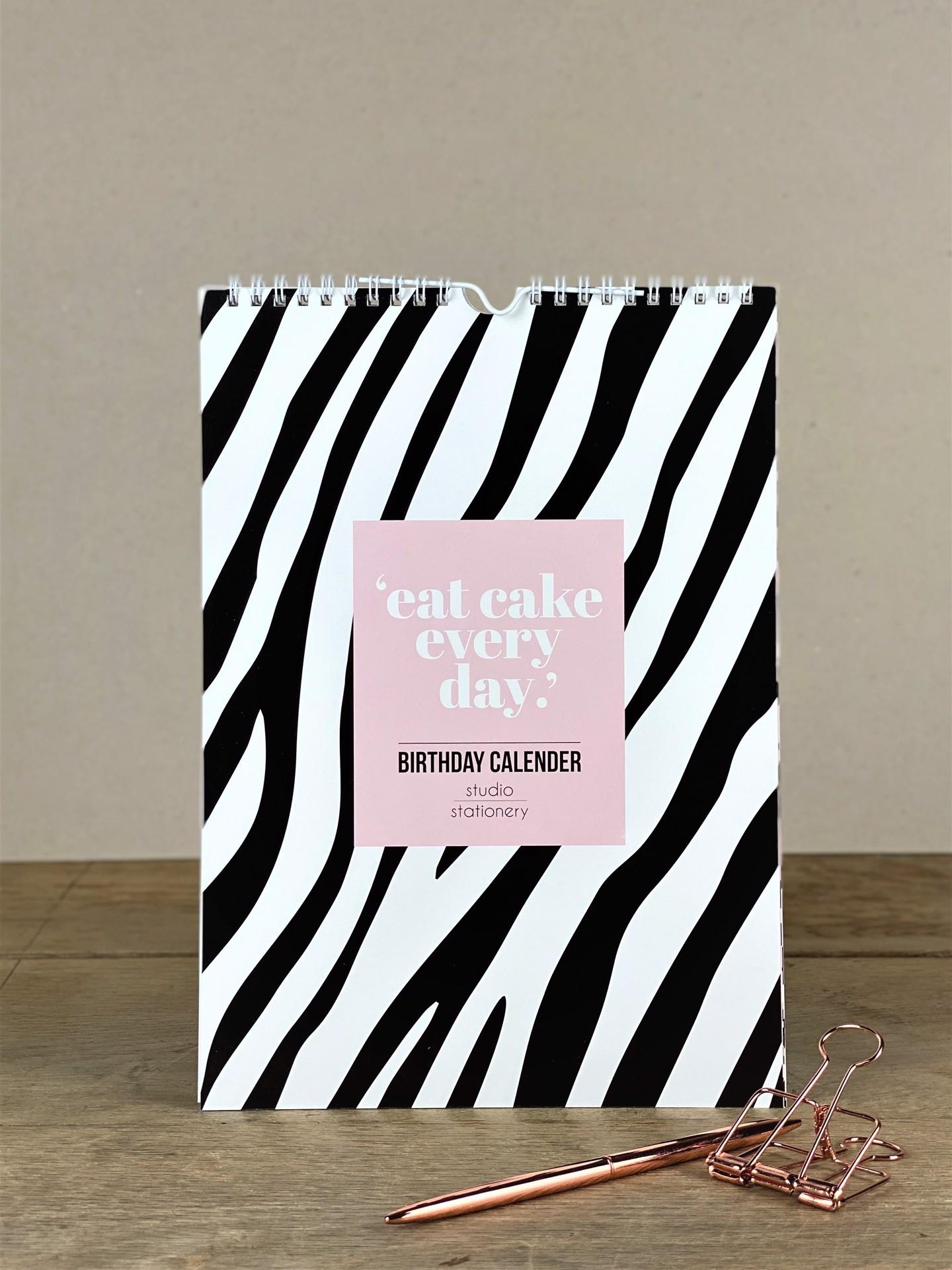 Geburtstagskalender eat cake every day