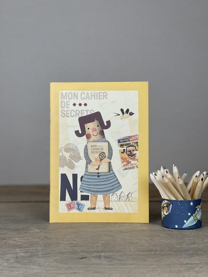 Malbuch Kinder Kreativ gelb