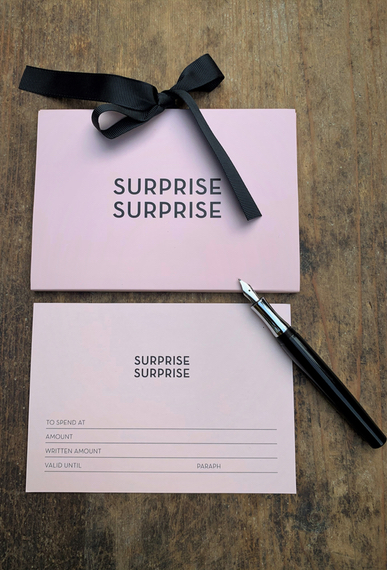 Geschenk Etui  surprise rosé