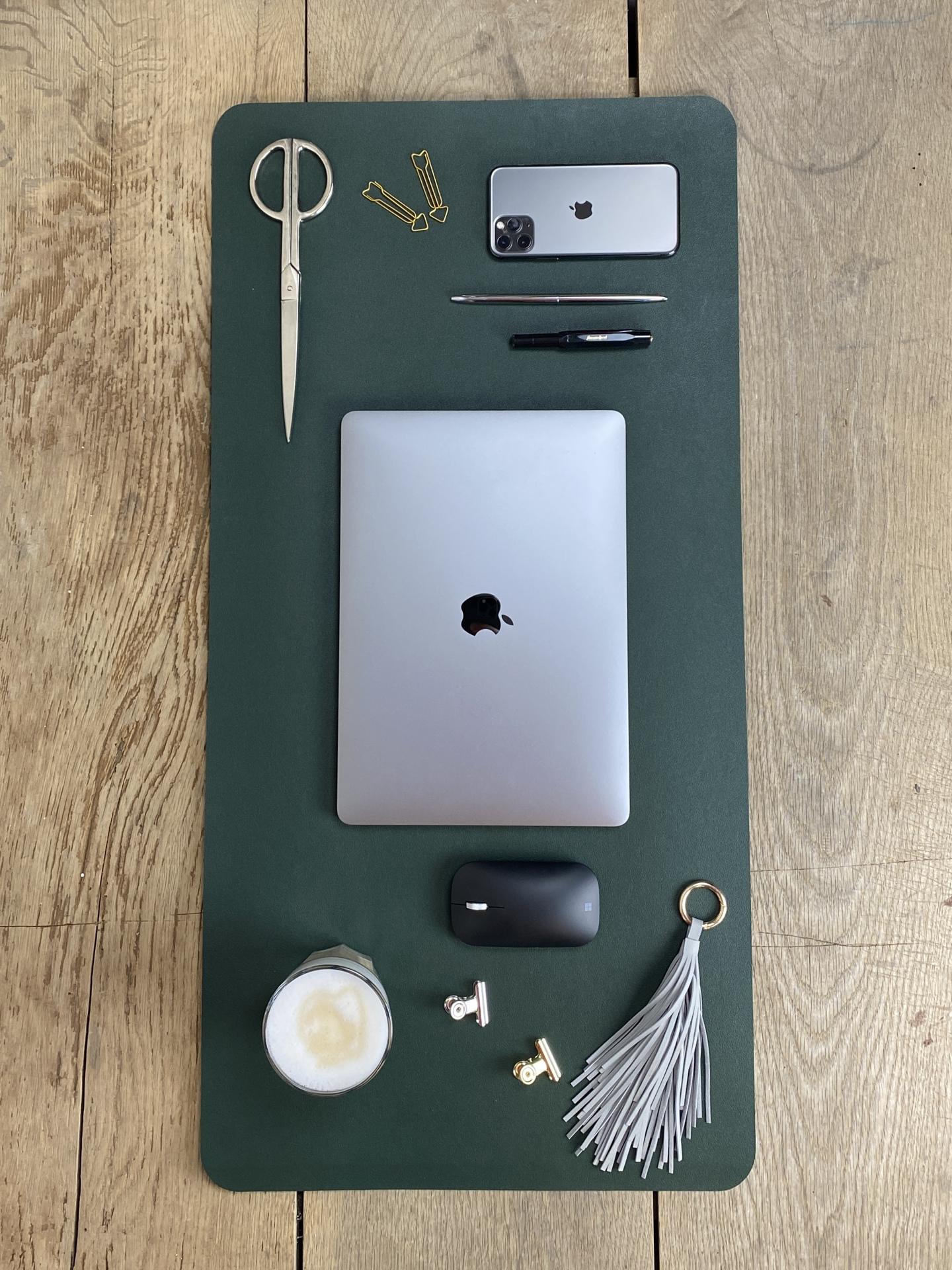 Schreibtischunterlage dunkelgrün